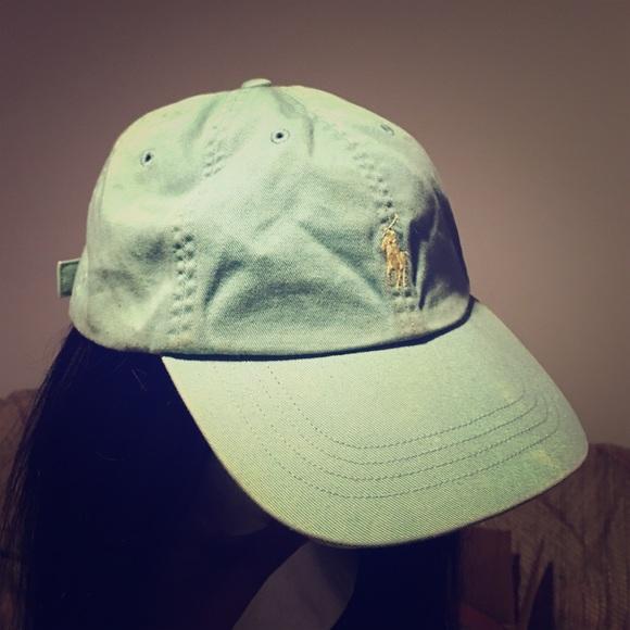 c30d0d72 Polo Ralph Lauren - Pony Logo Hat in Mint Green. M_57899dca8f0fc4ef8f00923b