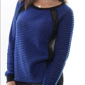濾FLASH SALE Sanctuary knit sweater Sheer Back