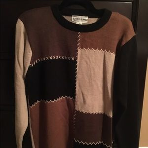 Alfred Dunner Sweaters - Brown Alfred Dunner Sweater