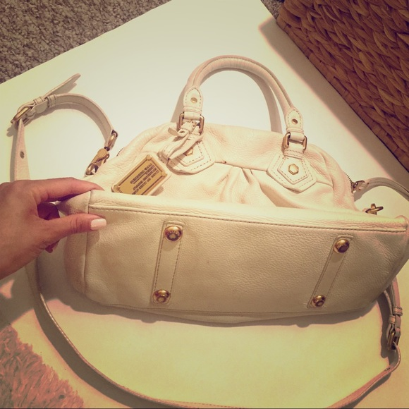78% off Marc by Marc Jacobs Handbags - Marc by Marc Jacobs Cream ...