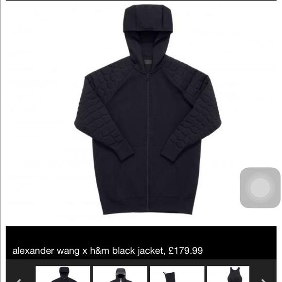 555c09cdac8c Alexander Wang Jackets & Blazers - Alexander wang X H&M Jacket Women Small