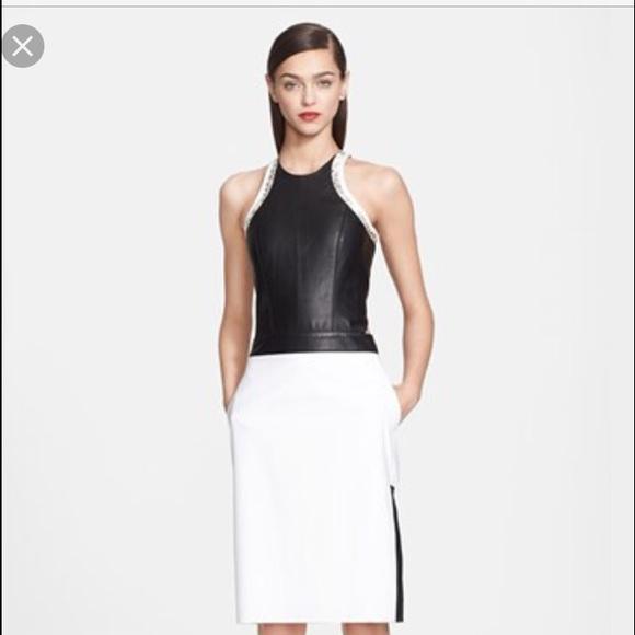 Helmut Lang Dresses & Skirts - Helmut Lang leather dress 🖤 Host pick