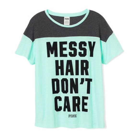 Messy Hair Don T Care 16 Messy Bridal Hairstyles That: Messy Hair Don't Care PINK Short