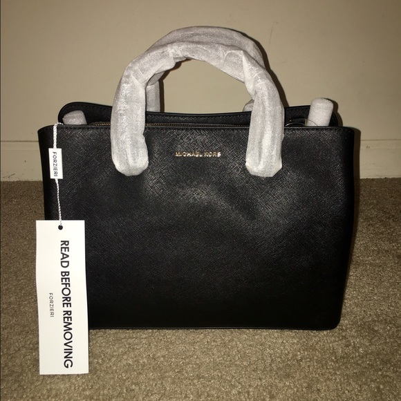 8180847d62f6 Michael Kors Bags | Mk Savannah Large Saffiano Leather Satchel Bag ...