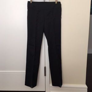 BCBG side zip pant front vents, 0
