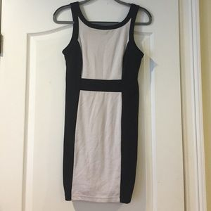 Black and White Forever21 party dress, size L