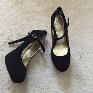 Material Girl Shoes - Platform Mary Janes