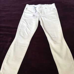 NWT Paige verdugo ankle white jeans size 30
