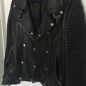 33ed12dbb Mason & Cooper Empire Leather Moto Jacket