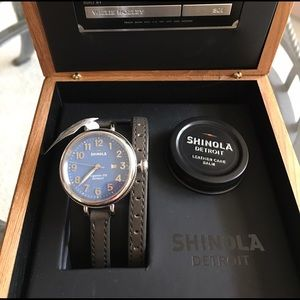 Shinola Accessories - Shinola Birdy Watch! 34mm. NIB!