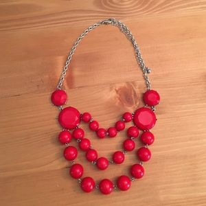 Jewelry - Red costume necklace