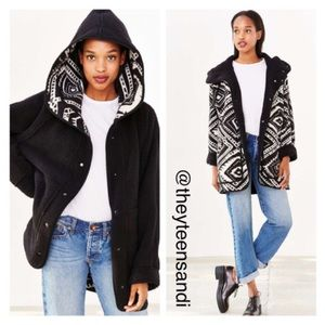 Urban Outfitters Reversible Shearling Jacket