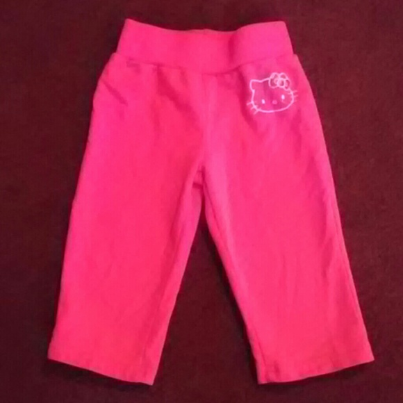 80e211486 Hello Kitty Pants | Girls Cotton Capris | Poshmark