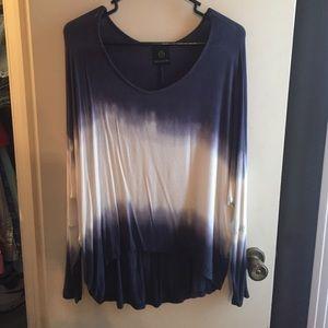 Boutique tie dye blouse