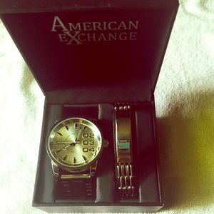 American Exchange Other - American Exchange watch+bracelet
