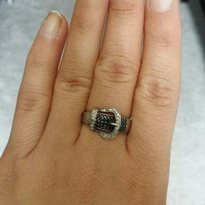 Jewelry - Diamond Buckle Ring