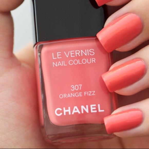 CHANEL Other | Nail Polish In Orange Fizz | Poshmark