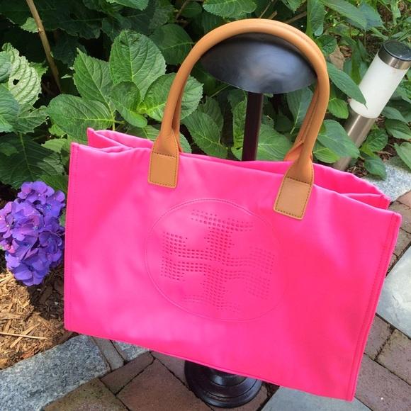 781874271dc Tory Burch; Tote Ella Neon Neoprene (Pink). M_578a6b66981829d9fb01b731