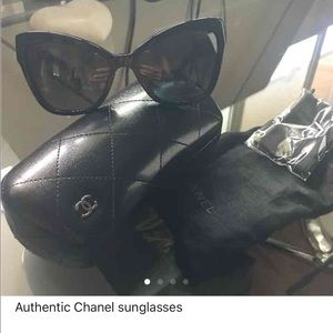Authentic polarized Chanel sunglasses.. New