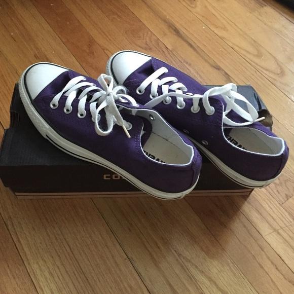 d0738745636a Converse Shoes - Gothic Grape Converse!