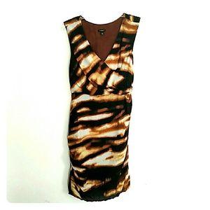 Ann Taylor print dress.