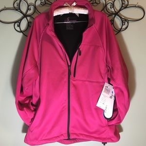 Soft shell fall jacket