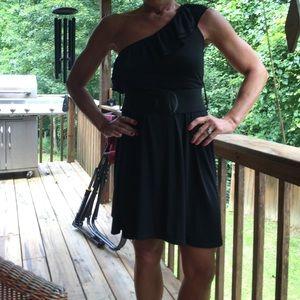 Charlotte Russe asymmetrical dress.