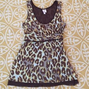 Sweet Pea by Stacy Frati Animal Print Top
