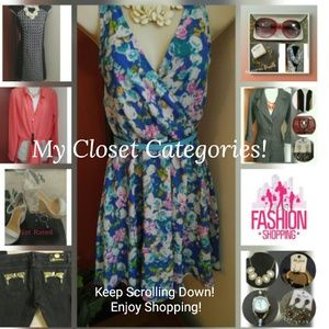 Other - Closet Departments! Scroll to View All Categories
