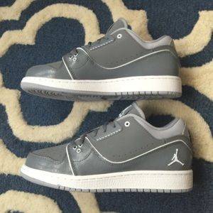 Nike Jordan 1 Flight 2 Low, 6.5Y, NWT, Grey
