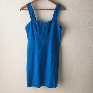 Forever 21 beautiful blue linen dress, sz M, NWOT