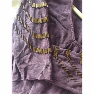 Purple UO top by ecote size xs