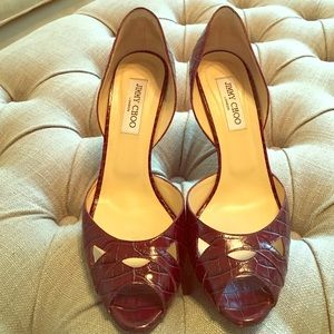 Jimmy Choo d'orsay pumps