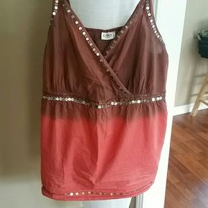 Cato embellished top