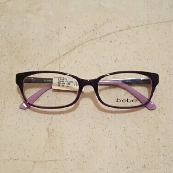 bebe Accessories | Brand New Frames Dark Purple Never Worn | Poshmark