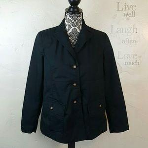 🌺 Liz Lange Navy Blue Blazer Coat Size 6