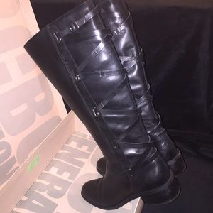 🔥BCBGeneration🔥Janiss Leather Knee High Boot