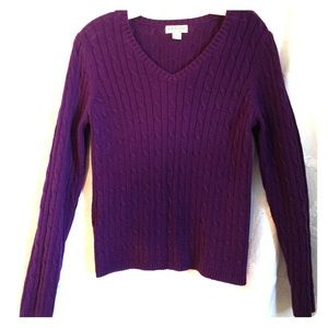 St John S Bay Cable Knit Sweater On Poshmark