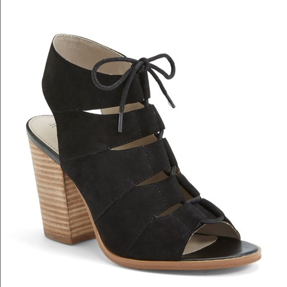3e45f96f5 Hinge Shoes - Hinge Lace Up Block Sandals from Nordstroms