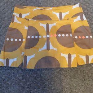 Orla Kiely sunflower mini skirt mod 8/10