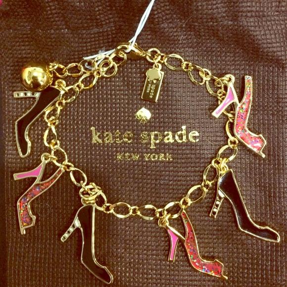 ecb56044100d3 BOGO Sale!! NWT kate spade Shoe In Charm Bracelet NWT