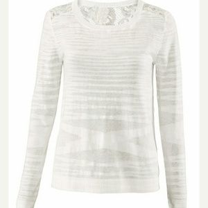 CAbi Tops - Cabi sophia sweater sz small (white) nwt