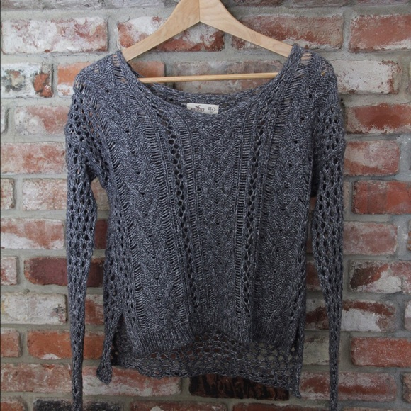 40% off Hollist... Hollister Sweaters For Girls Grey