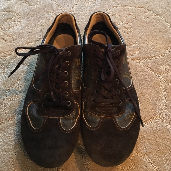 368f61b34b9a Louis Vuitton Other - Men s Louis Vuitton brown suede shoes