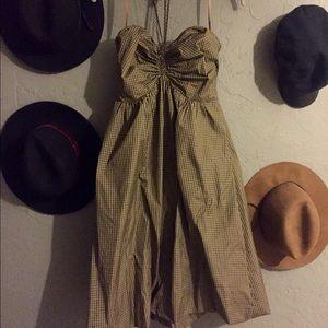 BCBG Max Azria Bubble Halter dress size S