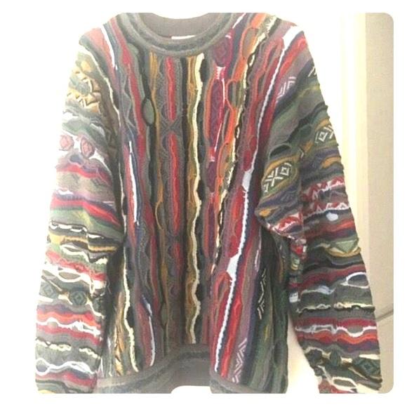 Large Vintage Coogi Sweater