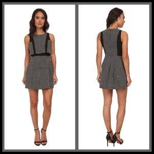 NWOT- Black & Polkadot Sleeveless Dress