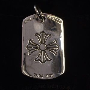 Chrome Hearts Jewelry - Chromeheart dog tag pendent
