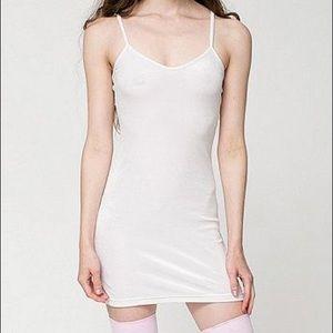 Cali Sun and Fun White Velvet Dress
