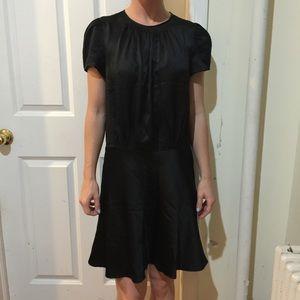 Proenza Schouler Dresses & Skirts - PROENZA SCHOULER Black 100% Silk Cap Sleeve Dress